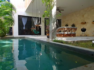 Photo for AMAZING 3BR CASA TZALAM IN TULUM BY HAPPY ADDRESS