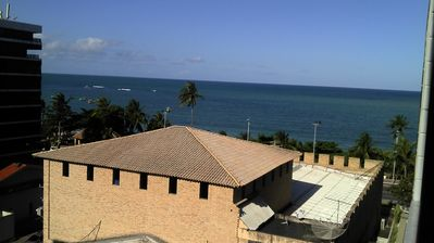 Photo for Flat in Ponta Verde 30 meters from the beach for up to 04 people building with pool