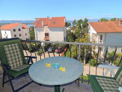 Photo for 1BR Apartment Vacation Rental in Malinska - island Krk