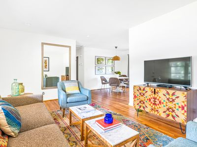 Photo for STAY LOCAL NEAR DECATUR - COMFY AND COLORFUL HOME