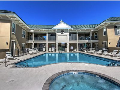 Enjoy Rooftop Pool, SeaCrest Pool, and Close Proximity to Coligny Plaza.