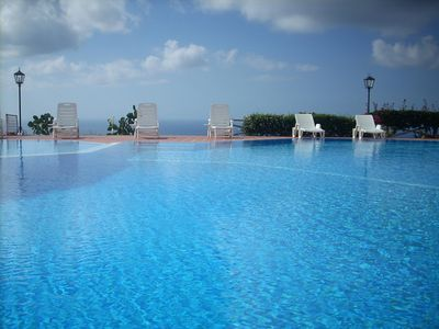 Photo for Spacious holiday app. with swimming pool and breathtaking views of the sea, the mountains, Tropea