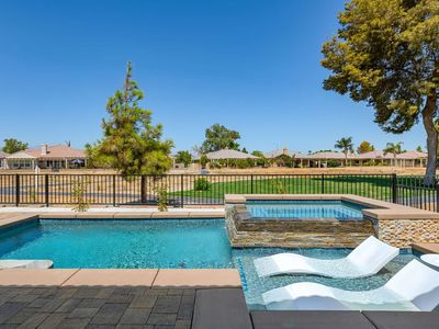 Photo for Indian Palms (NEW Home! NEW SaltWater Pool/Spa) Book 1 week 7th night FREE - Near Music Festival