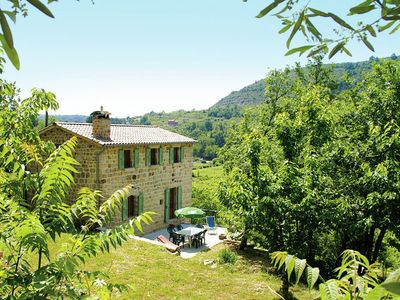 Photo for Natural stone house in stunning location with small beach at 300 metres