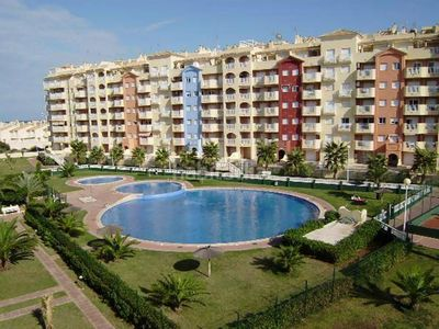Photo for Apartment La Manga terrace with views to the Mediterranean Sea