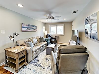 Photo for Top-Floor Apartment w/ Yard, Grill & Private Deck - Near Forsyth Park & River