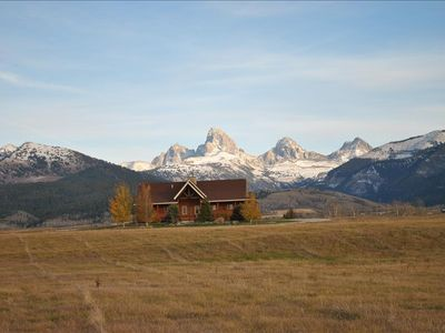 Photo for Truly a View To Die For, Nestled under the Tetons in Teton Valley Idaho