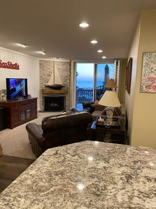 Photo for Stunning ocean views beach balcony 10 min to LEGOLAND CA King bed,pool and grill