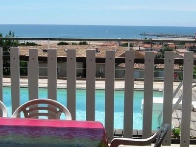 Photo for House and private pool sea view