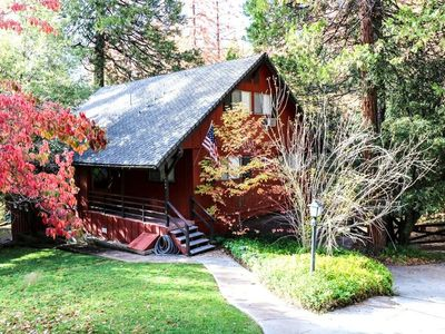 Photo for Beautiful Waterfront Lodge Sleeps 12 with Boat Dock, Lake Views & Near Yosemite!