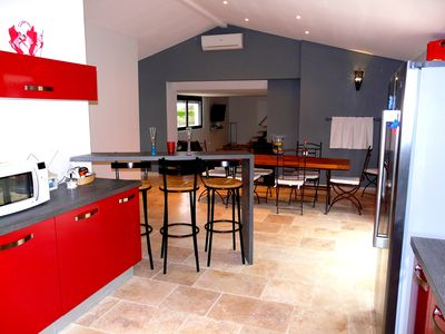Photo for VERY PLEASANT VACATION RENTAL AT THE FOOT OF LUBERON - 8 people