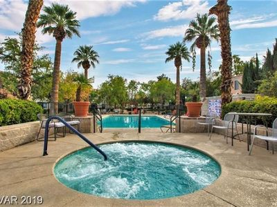 WHOLE  FURNISHED CONDO. 1st FLR,  SUMMERLIN, POOL VIEW, GREAT AREA and LOCATION.