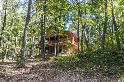 Hocking Hills Luxury Cabin 95 Acres Game Room Fire Pit Full
