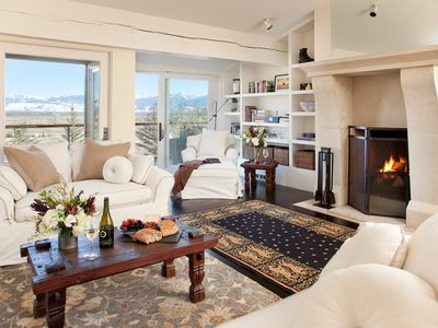Photo for Contemporary, inviting luxury condominium with Sleeping Indian views