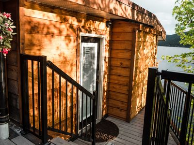 Photo for Lakefront Hideaway w/ beautiful views, quiet area, private lake access & dock!