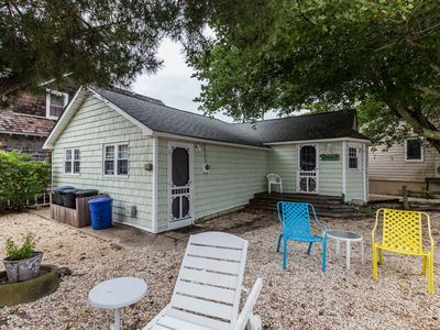 Photo for LBI 3 BR Oceanside Cottage. Charming cottage, all amenities four houses to beach