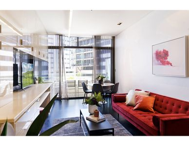 Photo for Bright two-bedroom apartment steps from everything