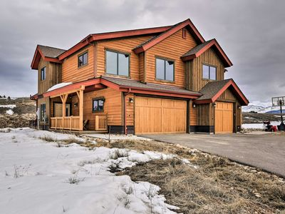 Photo for Tabernash Townhome w/ Private Hot Tub & Mtn Views!