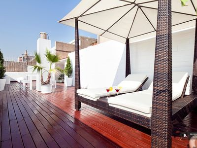 Photo for Friendly Rentals The Panoramic Suite Apartment in Barcelona