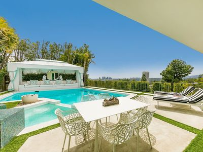Photo for The One Villa Private Gated with Pool and Cabana with Views