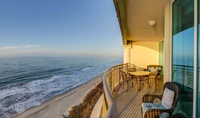 Photo for DIRECT OCEANFRONT PENTHOUSE LUXURY, WET BAR!!  UNIT 1507 free useof BEACH CHAIRS