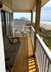 Photo for Fantastic Oceanfront Duplex, Gorgeous View. Directly on the beach