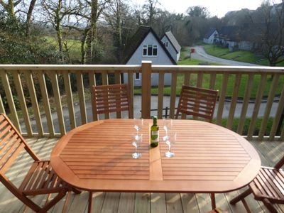 Photo for Holiday lodge with shared indoor pool, ideal base to explore Devon & Cornwall