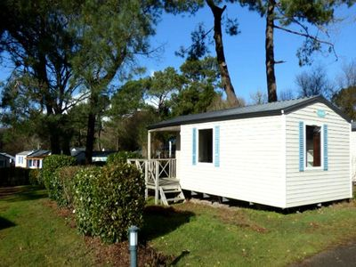 Photo for Camping Pen Palud *** - Mobile home O'PHEA 3 Rooms 4 Persons with Terrace