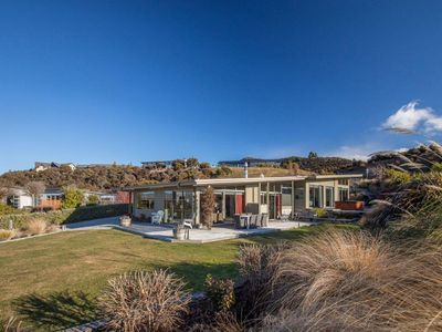 Photo for Panoramic mountain views from this modern, sunny Wanaka home
