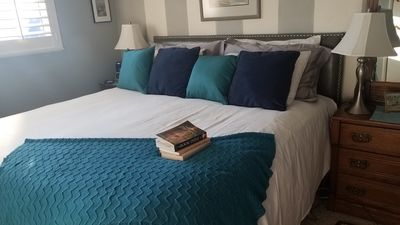 So Important: A comfortable roomy king size bed with silky sheets.