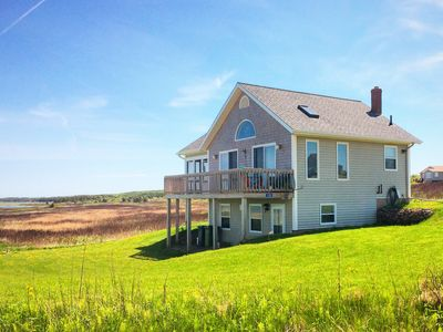 Photo for PEI Beach House, Our Ocean Front Vacation Home on a Large Quiet Sandy Beach
