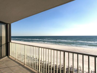 Photo for GULF FRONT 2 BED 2 BATH IN EDGEWATER BEACH RESORT!!!