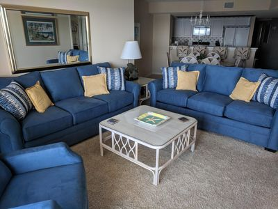 Photo for BEAUTIFUL Oceanfront 4 bedroom  3 bath Condo / Great Fall and Spring Rates