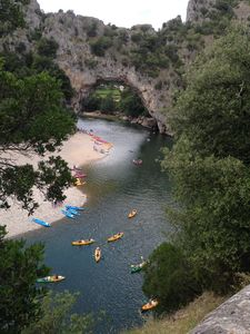 Photo for HOUSES IN PROPERTY WITH POOL AT THE FOOT OF ARDECHE AND Vallon Pont d'Arc