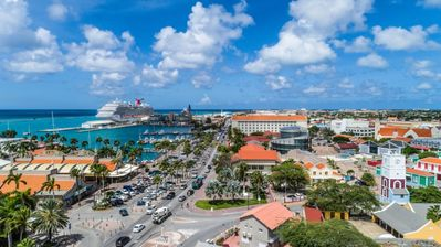 Photo for Spectacular Location | Gorgeous Views of Oranjestad & Beach