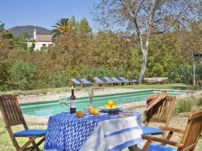 Photo for Old Farmhouse with amazing views set in a rural valley just 8 Minutes to Ronda,