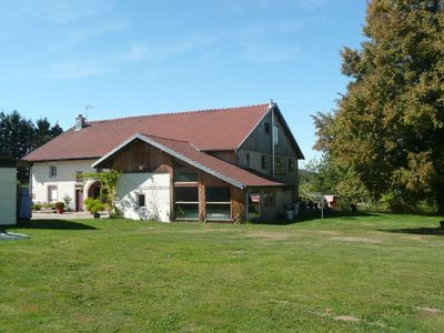 Photo for Vosges farmhouse, renovated with taste 5 *, great comfort / Pool / Sauna