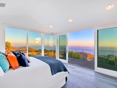 Photo for Amazing Pacific Ocean Views from this Malibu Stunner