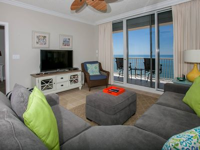 Photo for Picturesque Gulf-front Condo With Private Balconies