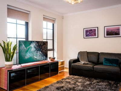 Photo for SOUTH YARRA SLEEPS 8. FREE PARKING. PVTE GARDEN. MYKI CARDS PROVIDED. LOCATIO