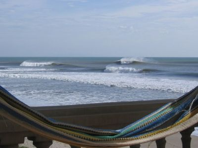 Photo for Beach Front Condo on Panga Drops and Colorado Surf Breaks