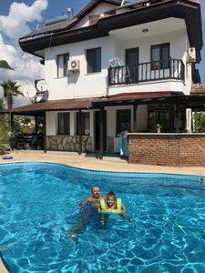 Photo for Detached villa with pool. Near Kaunos