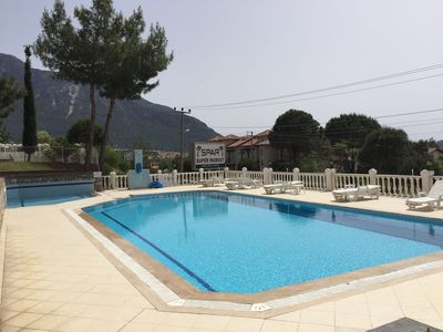 Photo for 3+1 apartment with pool..