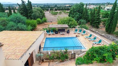 Photo for Morey - large country estate with orange groves and pool