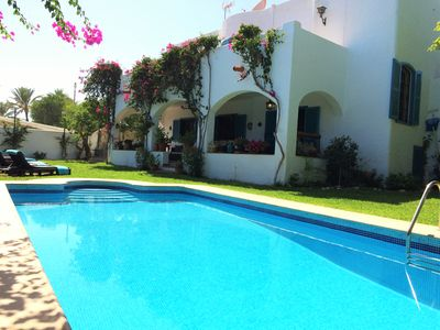Photo for Villa Noray 6 Bed (or 4/5) Spacious Villa, Private Pool 100m from Mojacar Beach