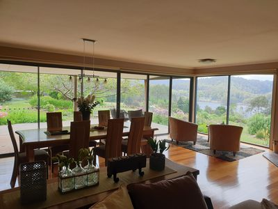 Photo for Luxury House at Wilmot Tasmania with views over looking Lake Barrington.