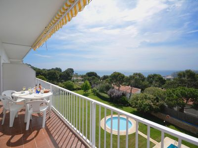 Photo for Apartment with sea views located in one of the best areas of Aiguablava