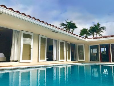 Photo for South Beach Style Sleek & Magical Pool House at Coral Ridge / Wilton Manors