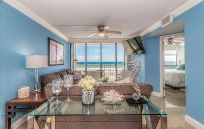 Photo for Direct Oceanfront. Resort like Amenities. Beautifully Decorated. Month Discounts