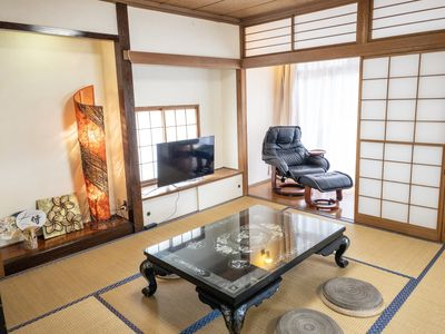 Photo for 170 m2 5 rooms Central Yokohama 3 Stations spacious service apartment with free WiFi